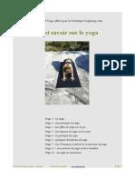 Manuel Yoga Yogimag Principes Pratique Postures Materiel Yoga