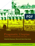 Rosemary Horrox, Sarah Rees Jones - Pragmatic Utopias_ Ideals and Communities, 1200-1630-Cambridge University Press (2002)