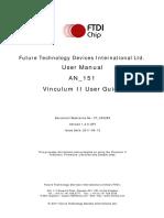 An 151 Vinculum-II User Guide