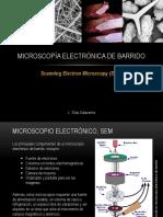 Microscopía Electrónica de Barrido