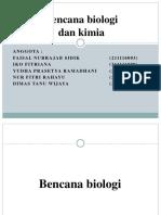 Bencana Biologi Dan Kimia
