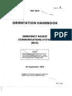 Emergency Rocket Communications System Orientation Handbook