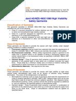 AustralianStandards High Visibility Safety Garment
