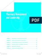 Management Essentials for Pharmacists