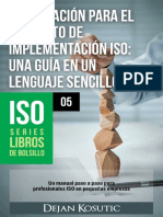 Preparations for ISO Implementation ES LookInside