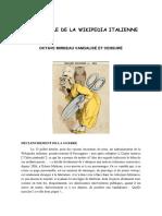 Scandale de la Wikipédia italienne