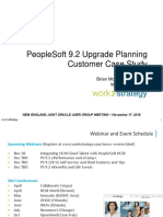 WorkStrategy_PeopleSoft 9.2 Upgrade Planning
