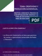 Creatividad y Producción Audiovisual