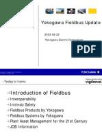 Yokogawa Update on Fieldbus Offering
