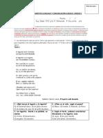 Evaluación Diagnóstica Lenguaje y Comunicación 6 Básico Terminada