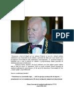 Profesor Aurel Ardelean fodatorul UVVG a incetat din viata.Dr.Leoveanu T.Ionut Horia