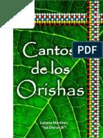 Cantos de Los Orishas Lavatori Luisana Martinez