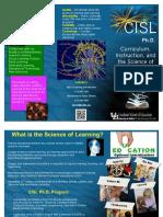 Brochure CISL