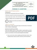 1. Practica 1 Audition