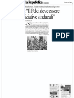 Intervista Repubblica