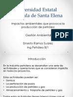 Impacto Ambientas Por Produccion de Petroleo