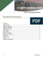 STI2D Et236 Proprietes Mecaniques