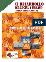 Plan de Desarrollo - Soledad - Atlántico - Pd - 08 -11