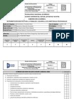 Ejemplo Formato Instrumentacion Didactica Para La Formacion y Desarrollo de Competecias Profesionales