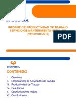 Informe Servicio Productividad Peru LNG 2018- Instrumentacion