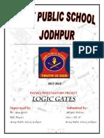 Phusics logic gates projct