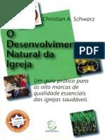 O Desenvolvimento Natural Da Igreja - DNI - Christian a. Schwarz