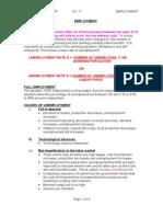 Ch[1]. 17 Employment