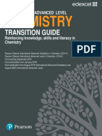 Chemistry Transition Guide Containing Worksheets ,Examiner Reports ,Exam Practice Etc