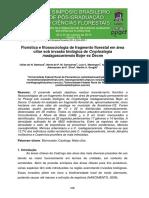 Floristica Fitossociologia Fragmento Florestal