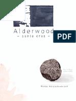 Alderwood Menu