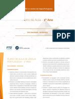 Plano de Aula 1 Portugues V1