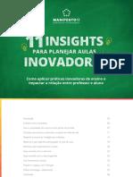 11 Insights Para Planejar Aulas Inovadoras