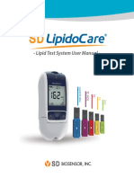Lipidocare User Guide