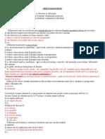 Diagnostic Grile FEAA