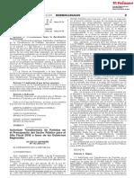 Decreto Supremo N° 312-2018-EF y RVM 179-2018-MINEDU