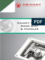 Canopy Door Stay Handle