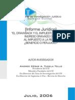 Informe Drawback e IR - Afecto o no - Andree Tudela