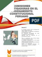Comisiones Investigadoras en El Ordenamiento Constitucional Peruano