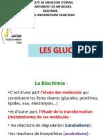 Biochimie Structurale Des Glucides.