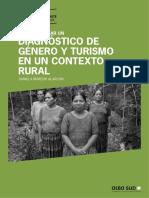 Diagnóstico de Género en El Turismo en Un Contexto Rural