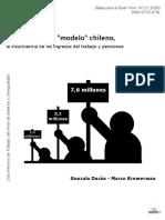 La Pobreza Del Modelo Chileno Fund SOL Nov 2018