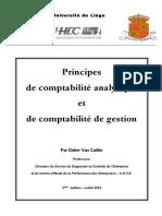 Principes de Comptabilité Analytique Et de Gestion