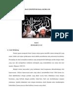 Makalah Ritual Dan Institusi Dalam Islam