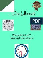 La hora en aleman