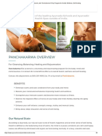 Panchakarma 5-Day Program for Health, Wellness, Self-Healing