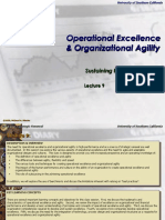 Operation Excellence & Agility