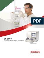 BC 5800 Hematology Analyzer