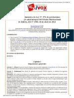 Reglamento a la Ley N° 475 DS Nº 1984, 30 de abril de 2014.pdf
