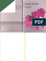 Tomas Kulka y Moles El Kitsch Padid 2016 Libro PDF