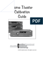 Home Theater Calibration Guide